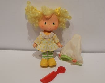 Vintage Strawberry Shortcake Doll Lemon Meringue Kenner 1980