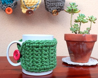 Covers cotton and wool cups made to crochet