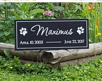 End of Summer Sale Pet Memorial Sign, Customized Plaque With Date for your Dog,Cat or any other Loved One