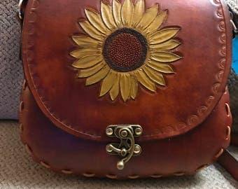 Hand Tooled Handbag  (P12)