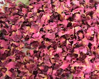 Rose petals, Petals for confetti, Biodegradable confetti,  Petals,  Confetti for cones,  Petals for baskets, 1 litre of petals