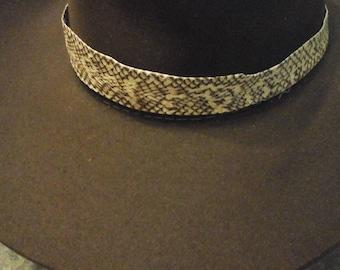 Cobra Snake Hatband