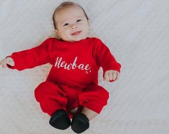 Recién nacido   Ropa   años 90 bebé   Equipos lindos   Mini Me   Traje de bebé   Primer día Inicio   Regalo   El Original   El Remix