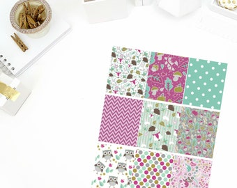 Enchanted Full Box Stickers! Perfect for your Erin Condren Life Planner, calendar, Paper Plum, Filofax!