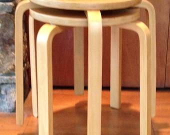 Alvar Aalto Style E60 stools