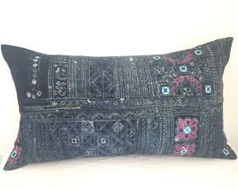 Vintage, Hmong, Hemp, Indigo, Batik, Boho, Bohemian, Cover