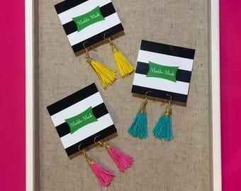 Tassel Earrings | Fringe Earrings