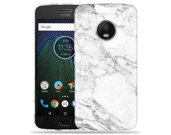 Motorola Moto G6 Case - Motorola G6 Case #Marble Up Cool Design Hard Phone Cover
