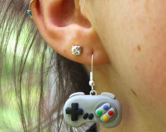 gamer gift controller earrings gamer jewellery nerdy earrings girl gamer gaming jewellery video game earring nerdy jewellery gift for gamers