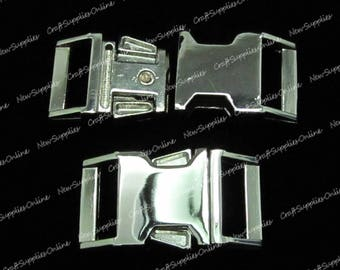 Safety 37.5 x 21 mm metal buckle