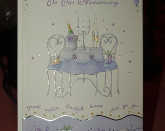 With Love On Our Anniversary Card