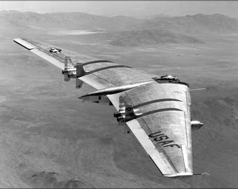 Poster, Many Sizes Available; Northrop Yrb-49 Flying Wing, A Heavy Bomber Prototype P5
