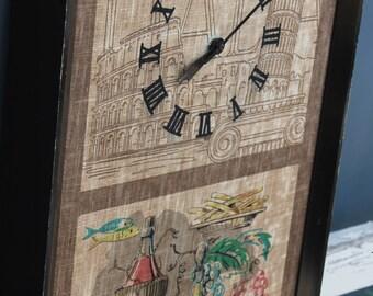 Retro 1960s Clock