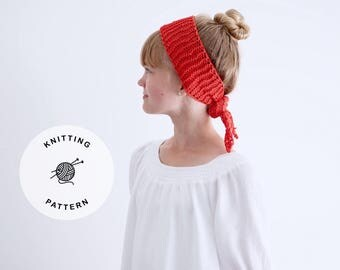 Knitting Pattern for The Allison Head Wrap