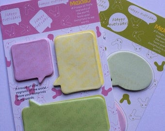 30% OFF ENTIRE STORE Chat Bubble Sticky Notes