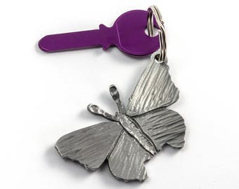 Butterfly keychain - Girl gift - animal keychain - butterfly gift