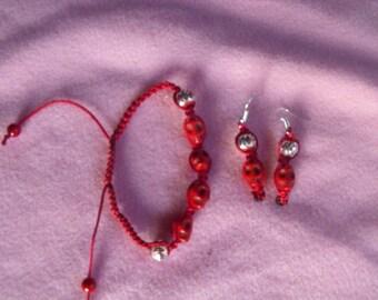 shamballa Red Skull ornament
