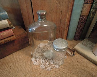 Vintage Glass Yardley Bottles / Yardley of London After Shaving Lotion / Yardley Smelling Salts Bottle / Collectible Bottles