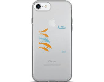 Dolphin Play iPhone 7/7 Plus Case