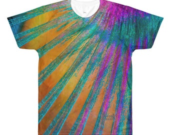 Parrotfish Fins design All-Over Printed T-Shirt