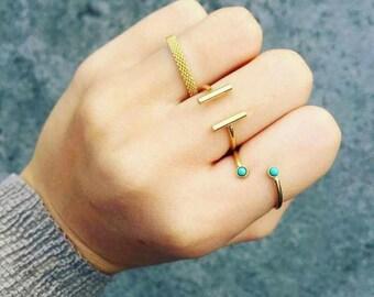 Ring: 2 stainless steel bar