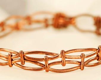 Woven Architectural Bracelet