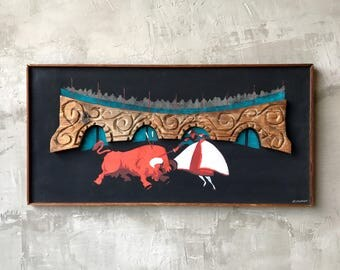 Large Wilrongo Wall Art.