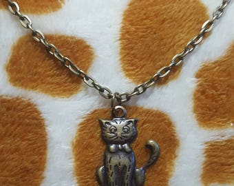 Tiny Cat Pendant