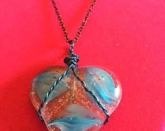 Glass Marble Pendant