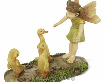 Wayward Duck Fairy for Miniature Garden, Fairy Garden