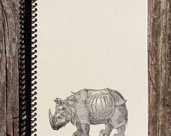 SALE - Rhino Journal - Albrecht Durer Art - Journal - Notebook - Sketchbook - Diary