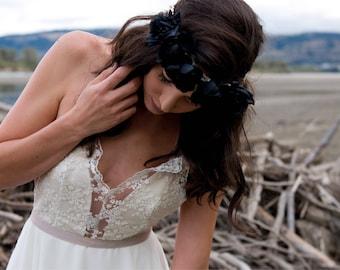 The August Gown | Handmade Bohemian Wedding Dress | Sample Dress