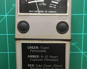 Ghostbusters Egon Gamma Dose Rate Meter IM-179 Prop Replica * Ecto Costume Belt PKE Ghostbuster Rare Radiacmeter