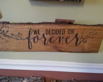 We Decided on Forever - Branches and Birds