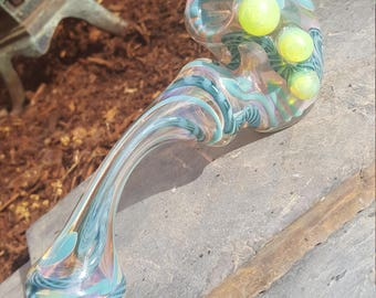 Inside out gandalf glass pipe