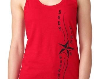 Sam Hunt tank top. Sam Hunt shirt. Body like a back road. Country music shirt. Body like a back road shirt.
