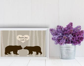 Personalized Wedding or Engagement Gift