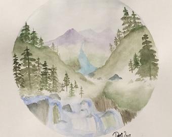 Watercolor Wilderness Part 9 2017