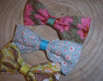 Set of 3 clips bow