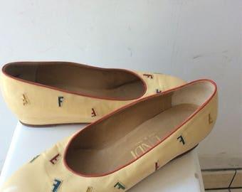 Fendi vintage shoes.
