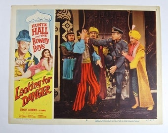 Looking for Danger 1957 movie lobby card