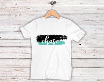 Personalised kids Tshirt, Kids Tee, Kids Name Tshirt, Christmas Gift, Children's Tshirt, personalised gift,
