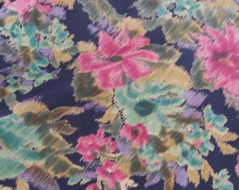 Coupons vintage fluid jersey fabric