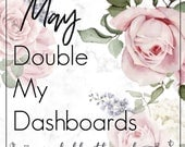 May Planner Kit - Double Dashboards