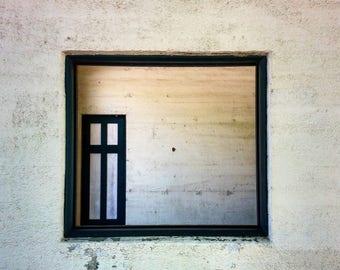 Door in the Window - 11x14 Print