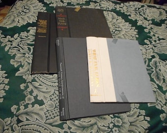 Various Sized Book Covers
