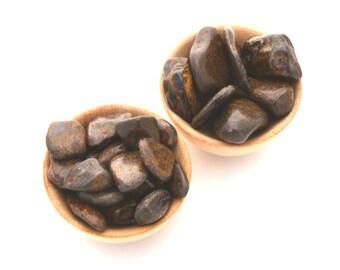 Bronzite tumblestone, choose your size, pocket stone tumbled crystal