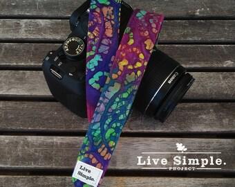 DSLR Camera Strap Hippie Boho | Accessories | Soft Cotton | Live Simple®