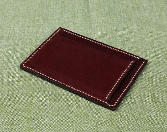 leather card case wallet 4pocket