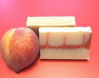 Cranberry Peach Vanilla Cold Process Soap
